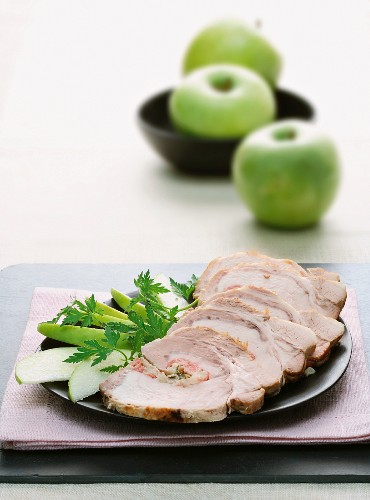 Arrosto di maiale in agro dolce (sweet and sour roast pork)
