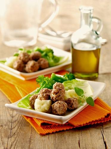 Polpettine di salsiccia (meatballs, Italy)