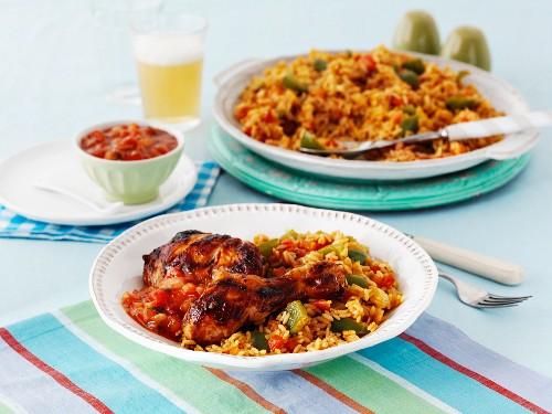 Jambalaya with chicken