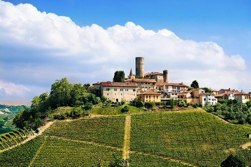 The wine-growing commune of Castiglione Falletto