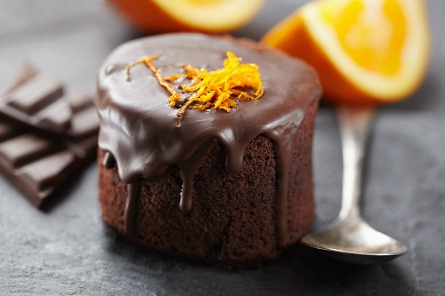 Chocolate-orange mini-cake