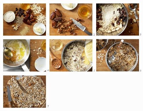 How to make an amaranth muesli bar