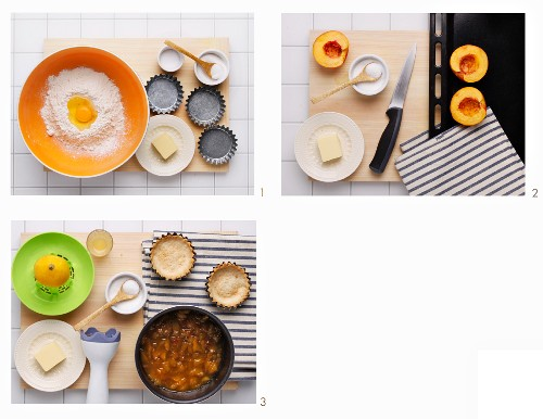 How to make a nectarine tartlet