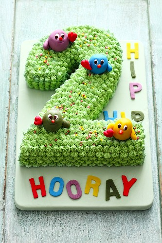 Fine A Childrens Birthday Cake For A Second License Images Funny Birthday Cards Online Eattedamsfinfo