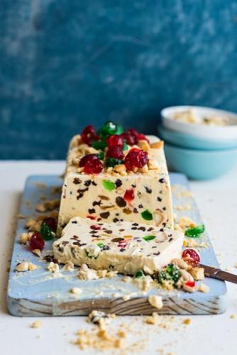 Festive Ice Cream Cake