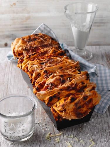 Pizza-style bread