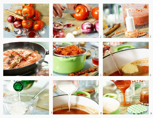 How to make homemade tomato ketchup
