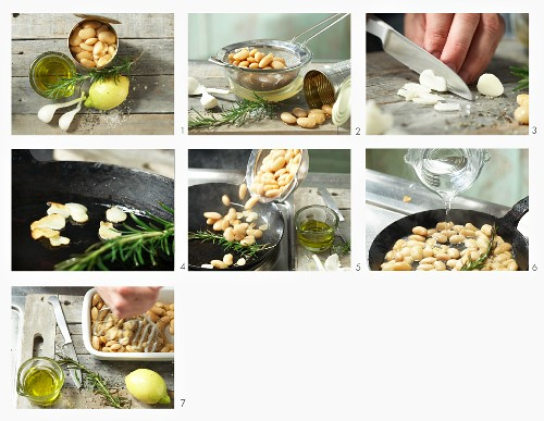 How to make white bean cream