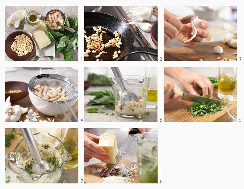 How to make light pesto