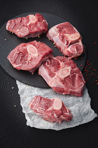 Organic veal shin slices (for ossobuco)
