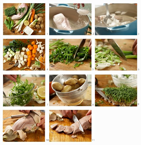 How to prepare boiled veal tongue