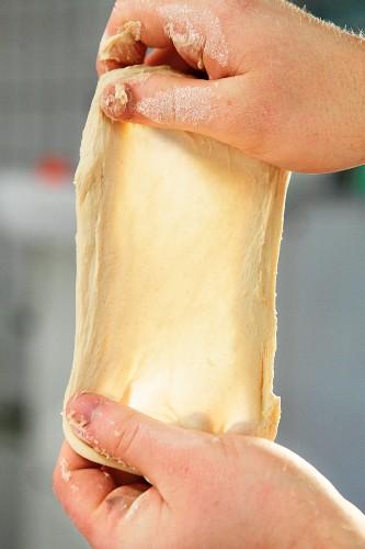 The windowpane test for wheat dough