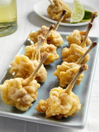 Angel wings chicken in tempura