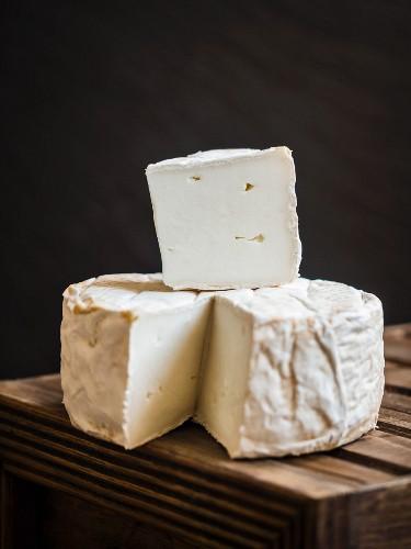 Organic semi-soft goat cheese