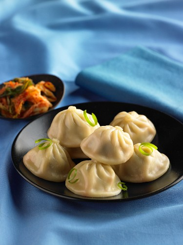 Dumplings with Kimchi (Asia)