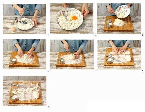 How to make quark dumplings