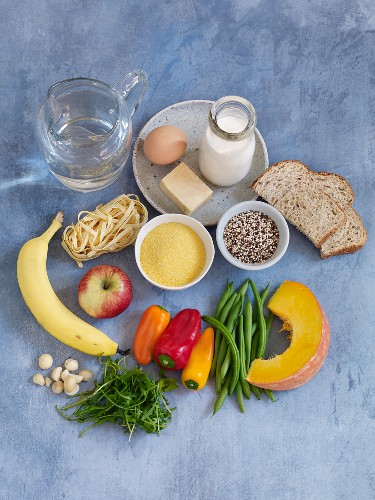 Ingredients for a balanced diet for children