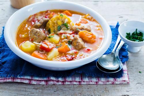 Carbonada soup (Argentina)
