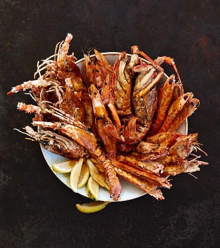Mixed seafood platter (Lebanon)