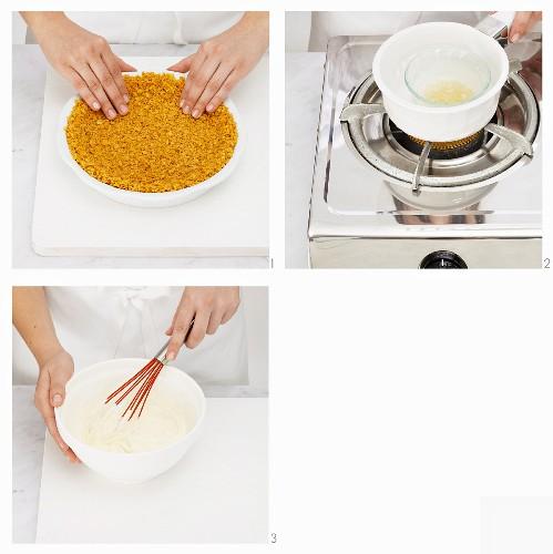 Praparing Cheesecake
