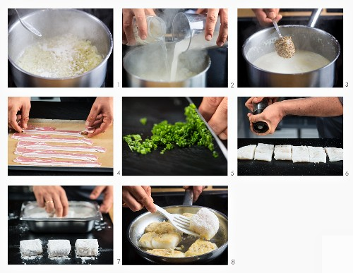 How to make fillet of skrei with mustard sauce