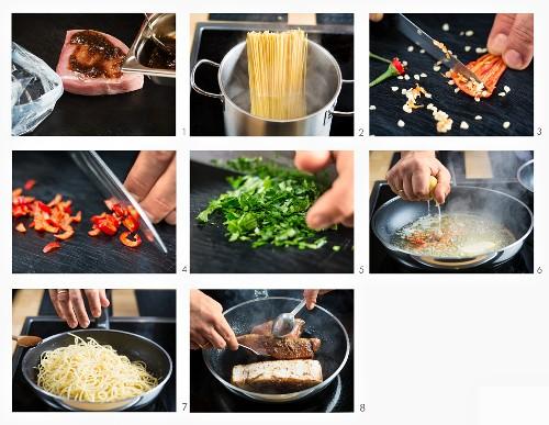 How to make spaghetti with tuna