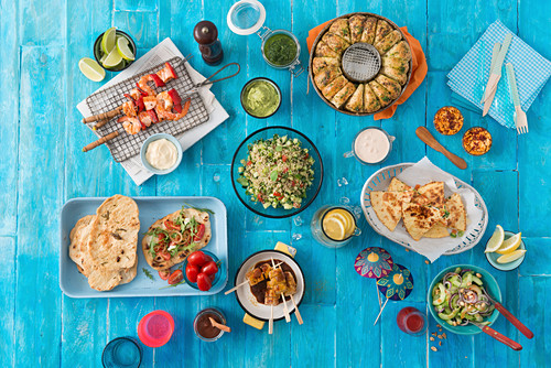 Verschiedene mexikanische Gerichte