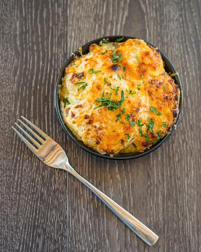 Truffle macaroni with cheese