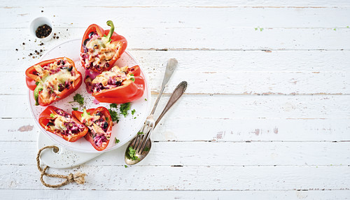Stuffed peppers (low carb)