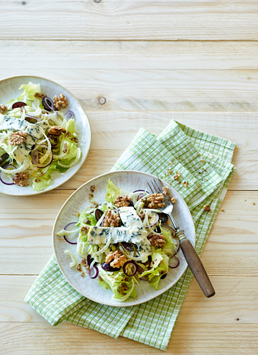 Fenchel-Trauben-Salat mit Zitronenvinaigrette