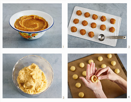 Pineapple tarts – New Year's Eve pastries filled with pineapple