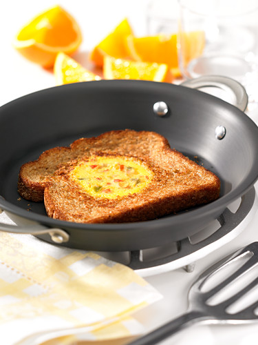 Egg in toast hole