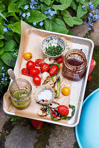 Barbecue marinades and toppings