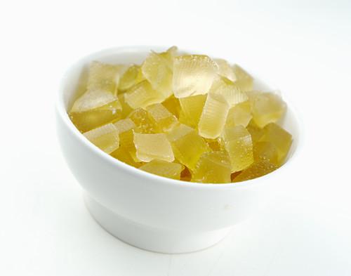 Candied lemon cubes