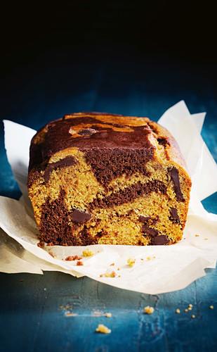 Gluten-free jaffa marble cake