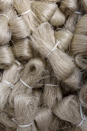 Bundles of vermicelli noodles (Hanoi, Vietnam)