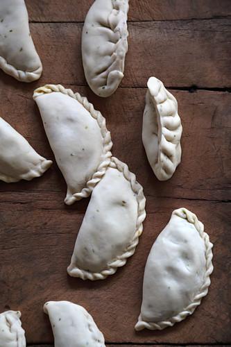 Raw dumplings (India)