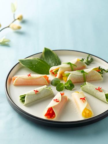 Mussam (Vegetable Roll, Korea)