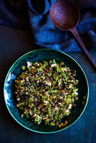 Roasted Broccoli Salad