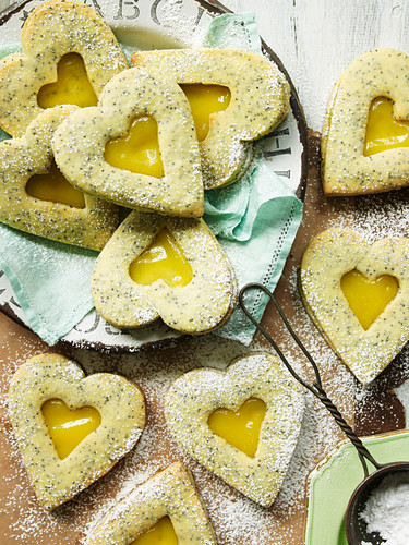 Lemon and Poppy Seed Biscuits