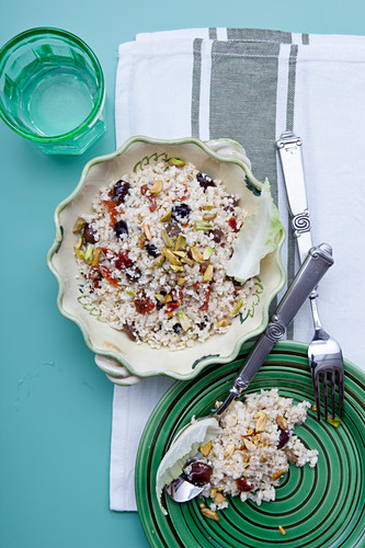 Cauliflower with Olives and Anchovies