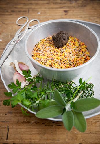 Colourful Lentils