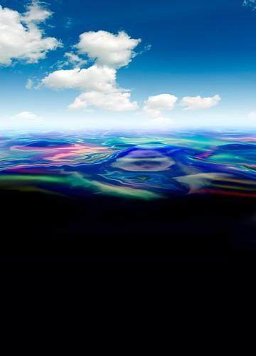 Oil spill,artwork
