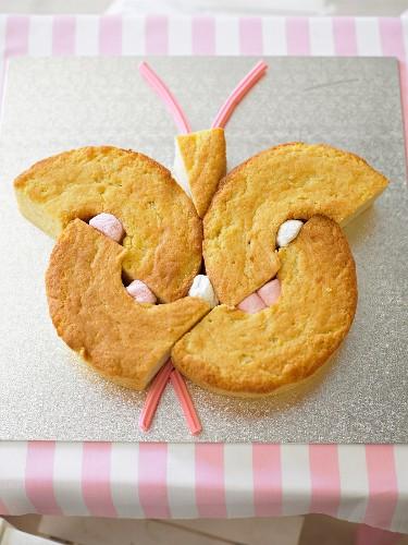 Bella Butterfly - Kids Party Cake