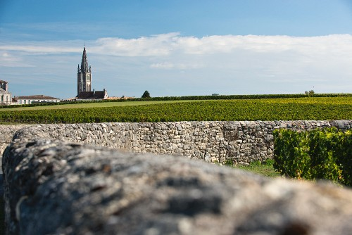 The wine-growing region of Saint-Emilion, Bordeaux, France