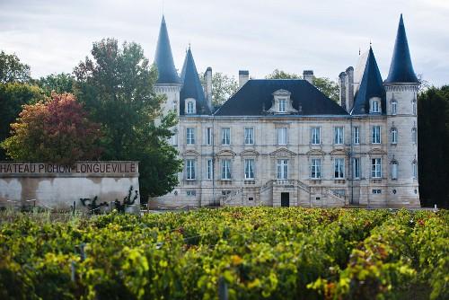 Château Pichon-Longueville-Baron, Bordeaux, France