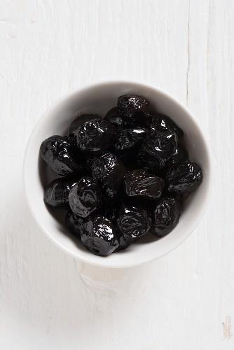Olive al forno (roasted olives, Italy)