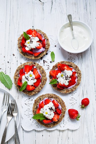 Strawberry tartlets