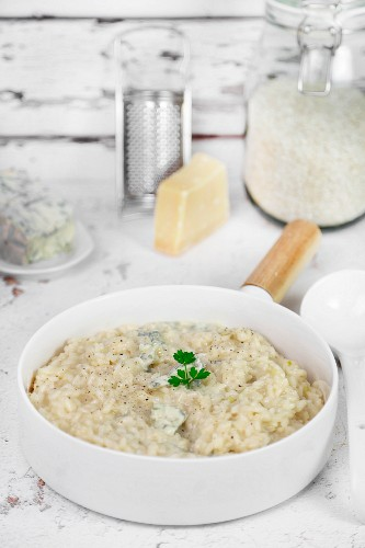 Risotto with gorgonzola