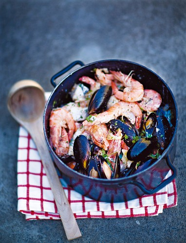 South African seafood stew